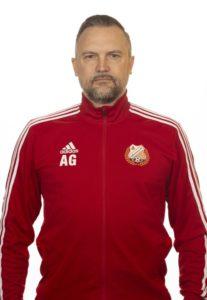 Lidköpings tränare Andreas Gustavsson