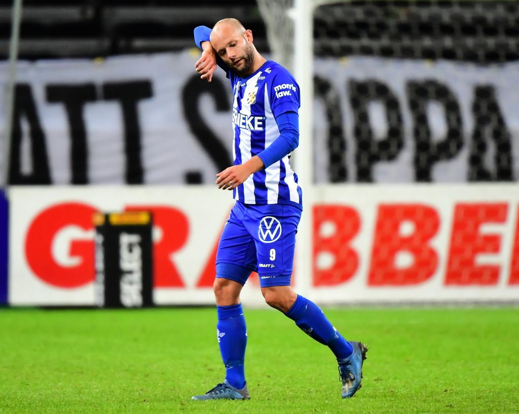 Robin Söder under en match i IFK Göteborg