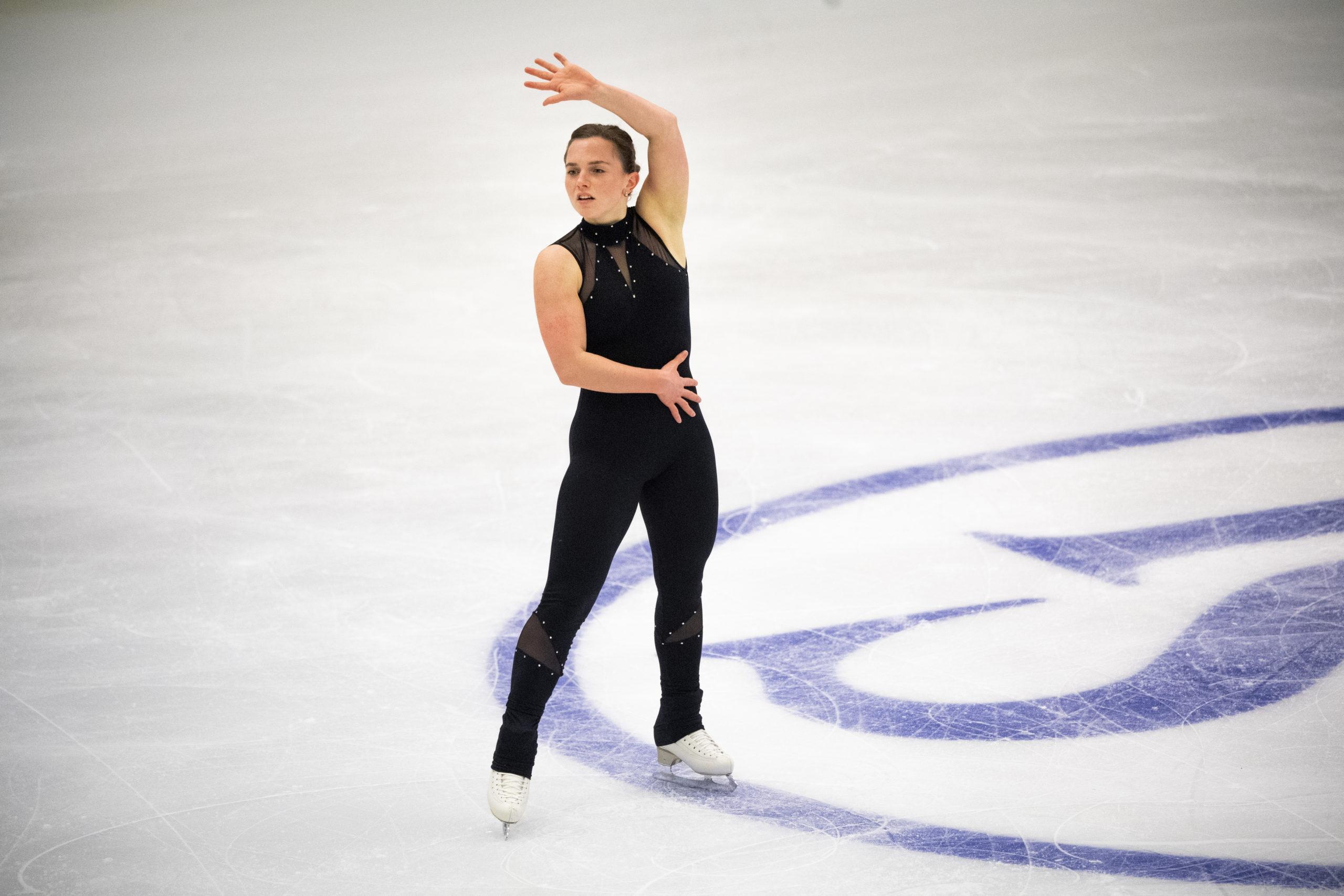 Josefin Taljegård tränar inför VM