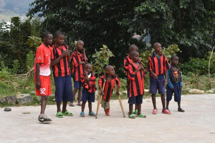 Basket ska göra skillnad i Rwanda