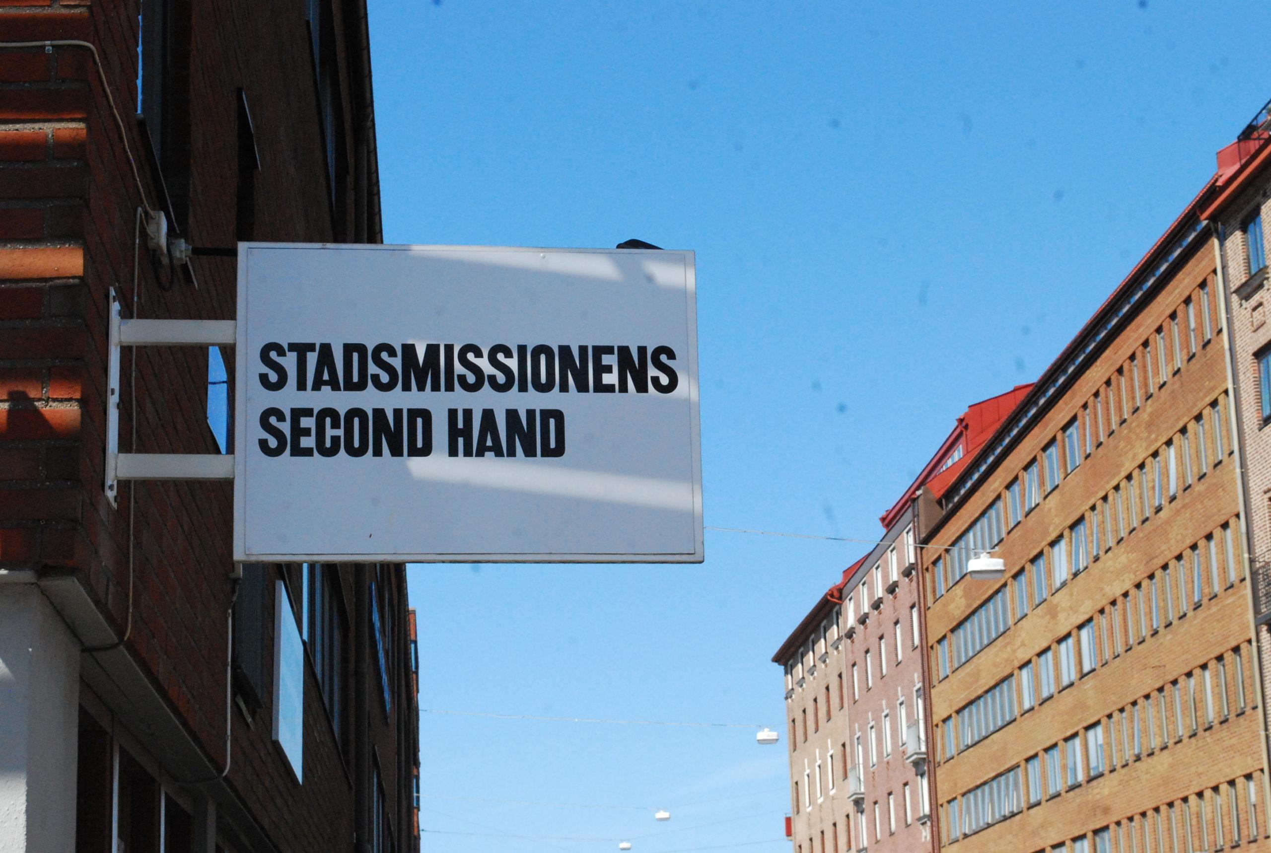 Stadsmissionens Second hand
