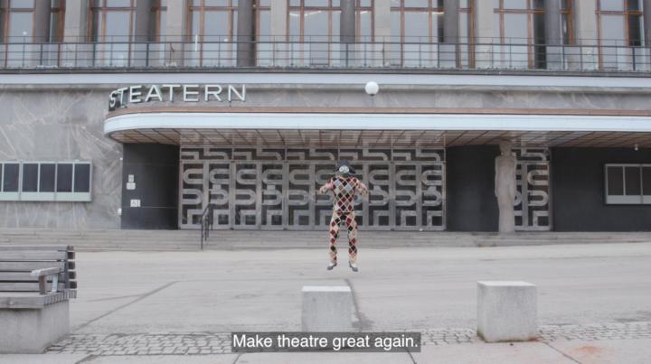 Stadsteatern gör en kortfilm om kultur efter pandemin
