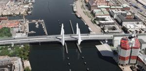 Nya Hisingsbron. Bild: Vattenfall.se