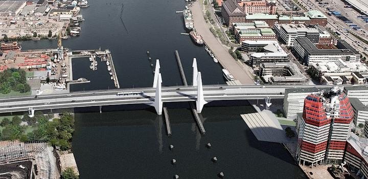 Nya Hisingsbron. Foto: Vattenfall.se